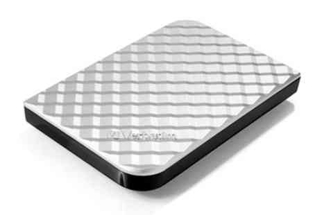 Groupon Goods Global GmbH - Verbatim 1.75TB Silver Store n Go Gen 2 External HDD With Free Delivery - Save 0%