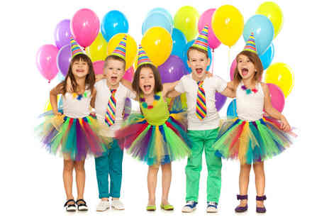 Cheeky Parties - 90 minute childrens party package for 20 children - Save 0%