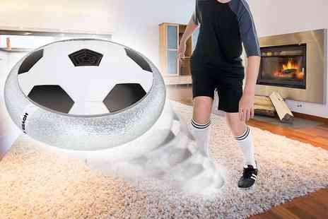 Glam Bazaar - LED hover football - Save 81%
