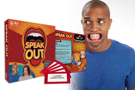Gadgetmaster London - Speak Out mouthpiece challenge game have some fabulous family fun - Save 70%