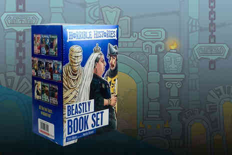 Price Cut Books - Special foil edition of the Horrible Histories Beastly Books collection - Save 82%