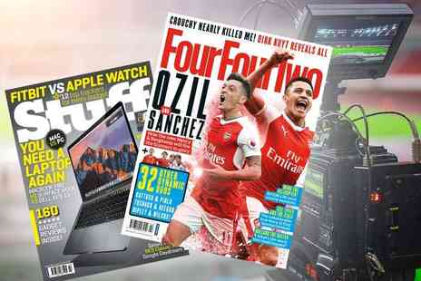 Haymarket Media Group - 12 month magazine subscription to Stuff or Four Four Two - Save 68%