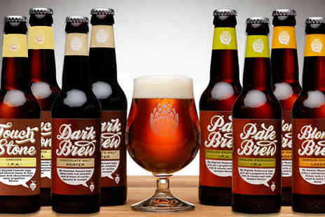 Brewhive - Eight Pack of Craft Beers Plus Engraved Crystal Glass - Save 58%