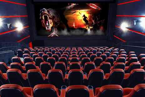 6D Cinema - Two 6D Cinema Films for Up to Six - Save 44%
