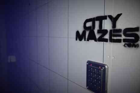 City Mazes - Live Escape Game for Up to 24 People - Save 51%