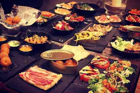 Canasy Tapas - All You Can Eat Tapas with a Glass of Sangria for Up to Four - Save 32%
