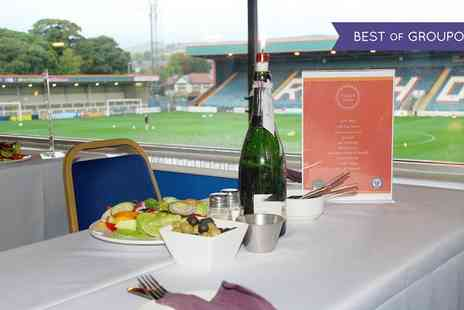 Rochdale AFC - One Rochdale AFC ticket with a two course meal and match day programme - Save 38%