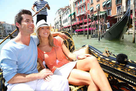Weekender Breaks - Four Star Two night Venice Lido break including flights, spa access and a bottle of wine - Save 31%