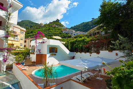 Crystal Travel - Two or three night 4 Star Amalfi Coast Spa break include car hire - Save 68%
