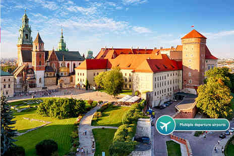 Tour Center - Two night 4 Star Krakow spa stay with flights and Auschwitz tour option - Save 39%
