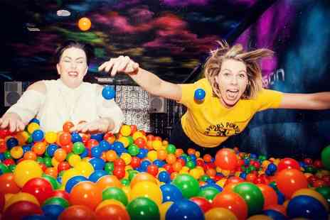 Ballie Ballerson - Ball pit entry and alcoholic shot for one - Save 50%