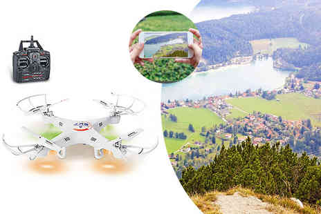 Craze UK -  Remote control drone with a camera - Save 52%