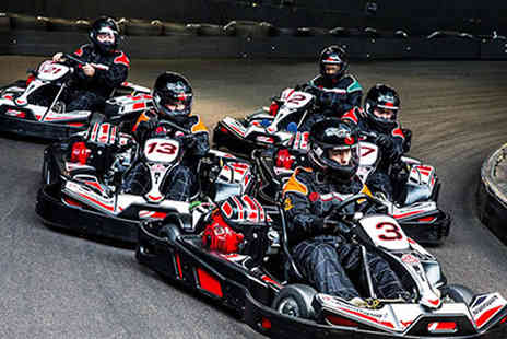 Activity Superstore - 30 minutes of go karting for two people with Activity Superstore - Save 14%