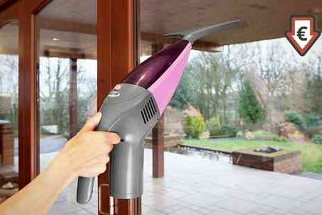 Groupon Goods Global GmbH - Cordless Swan Two in One Wet and Dry SC8020N Window Vacuum With Free Delivery - Save 0%