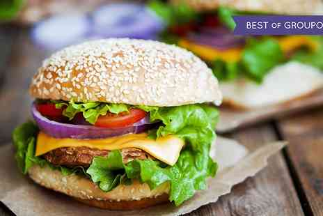 Waterfront Brasserie - Burger and Chips for Two - Save 0%