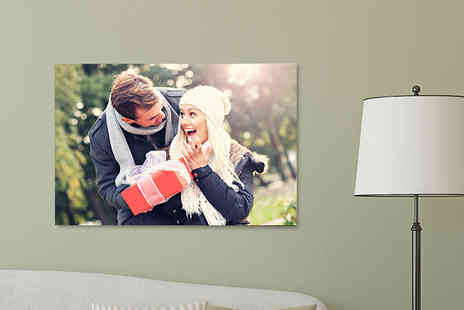Your Perfect Canvas - Personalised A1 canvas spruce up your home - Save 82%