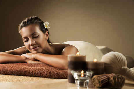 Flitz Herbal and Holistic Centre - Spa day for one person with two treatments and an aroma sauna experience - Save 64%