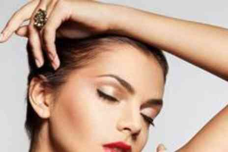 Hands On Hair and Beauty - Luxury manicure with a file and polish on toes, an eyebrow shape and tint, an eyelash tint and a spray tan - Save 72%