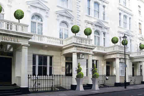 Mercure London Hyde Park Hotel - Four Star Three nights in a Standard King Room - Save 80%