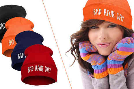 Bazaar me - Bad Hair Day Beanie Hat - Save 87%