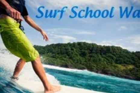 Surf School Wales - 90 Minute Surfing Lesson - Save 60%