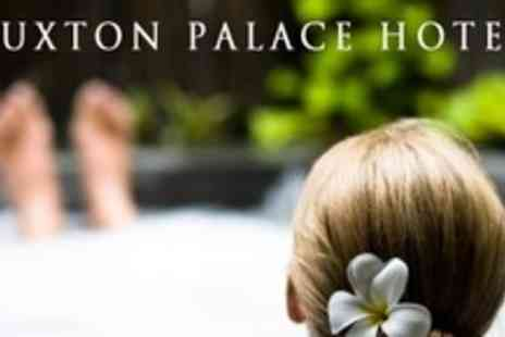 The Palace Hotel Buxton - Spa Day For One With Massage, Facial, Cream Tea, and Sparkling Wine - Save 63%