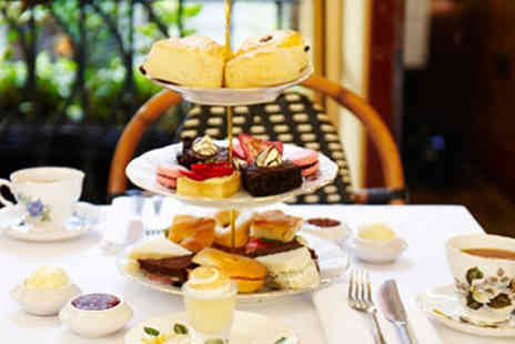 Boulevard Brasserie - Traditional Afternoon Tea for Two - Save 0%