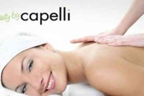 Beauty by Capelli - Facial with Back, Neck and Shoulder Massage - Save 73%