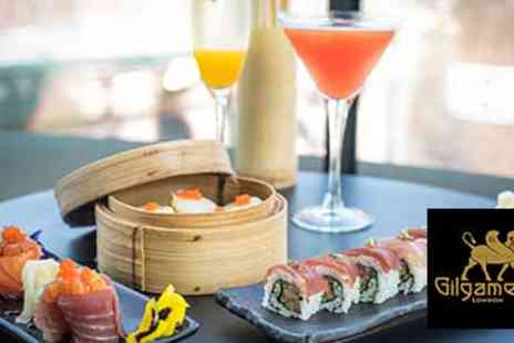 Gilgamesh - 50% off Three Course Meal and Champagne Cocktail for Two - Save 50%