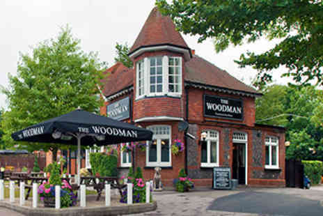 The Woodman - Two Course Pub Meal and Drink for Two - Save 0%