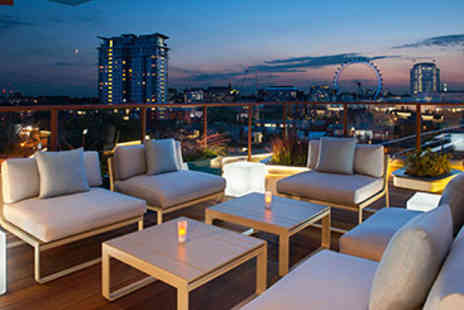 H10 Waterloo Sky Bar - Seven Course Tapas and Cocktails for Two - Save 0%