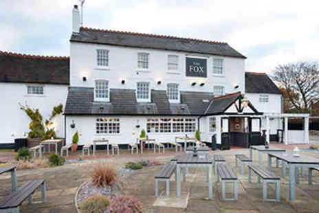 The Fox Inn - Two Course Pub Meal and Drink for Two - Save 0%