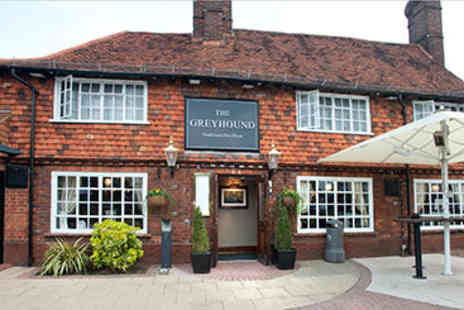 Greyhound Aldershot - Two Course Pub Meal and Drink for Two - Save 0%