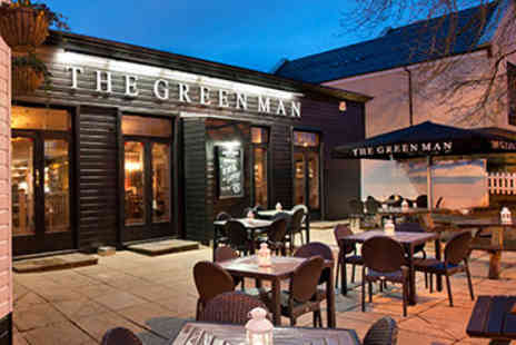 The Green Man - Two Course Pub Meal and Drink for Two - Save 0%