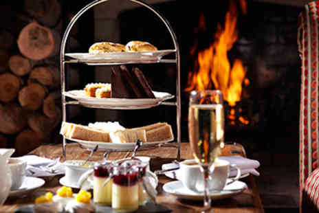 Langshott Manor - Champagne Afternoon Tea for Two - Save 0%