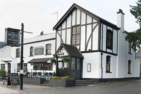 Prince of Wales - Two Course Pub Meal and Drink for Two - Save 0%