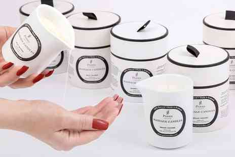 Groupon Goods Global GmbH - Parks London Aromatherapy Massage Candle With Gift Box - Save 83%