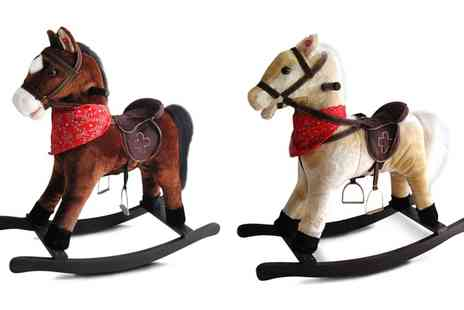 Groupon Goods Global GmbH - Rocking Horse with Sound Effects With Free Delivery - Save 0%