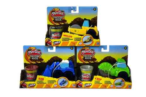 Groupon Goods Global GmbH - Set of Three Play Doh Diggin Rigs Tool Crew - Save 29%