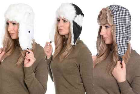 Groupon Goods Global GmbH - Martildo Unisex Trapper Hat - Save 0%