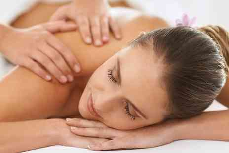 ARA Aesthetics - Back, Neck and Shoulder Massage and Radio Frequency Skin Tightening Facial - Save 74%