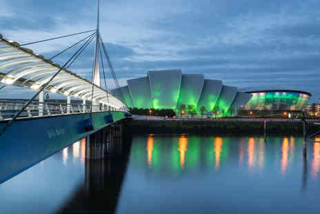 OMGhotels.com - Overnight Glasgow stay with a two course meal and drink - Save 39%
