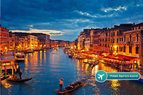 ClearSky Holidays - Two night mystery Italy break with return flights - Save 62%