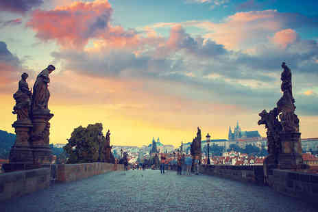 Tour Center - Four night Prague and Budapest break including flights and train transfer - Save 40%