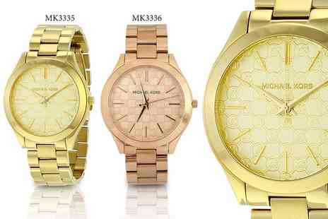 Deals Direct - Michael Kors ladies runway watch choose from two designs - Save 51%