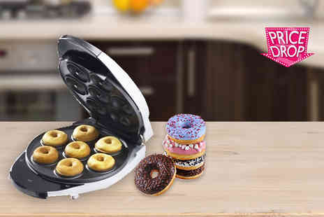 ViVo Technologies - Mini doughnut maker create piping hot treats - Save 67%