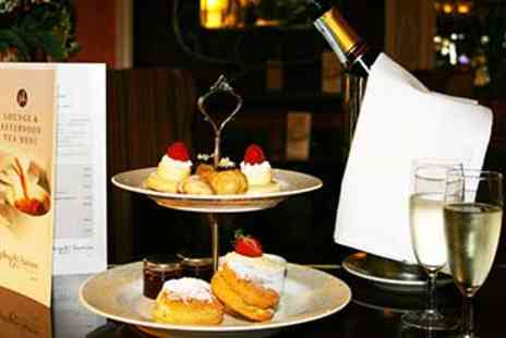 The Plough and Harrow - Champagne Afternoon Tea for Two - Save 0%