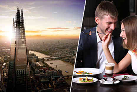 The View From The Shard - The View from The Shard and Hilton Green Park Dining for Two - Save 22%