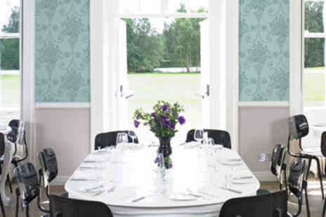 Stoke Place - Gourmet Dining for Two - Save 0%