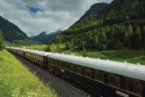 Venice Simplon Orient Express - Venice to London Luxury Train Trip for Two - Save 0%